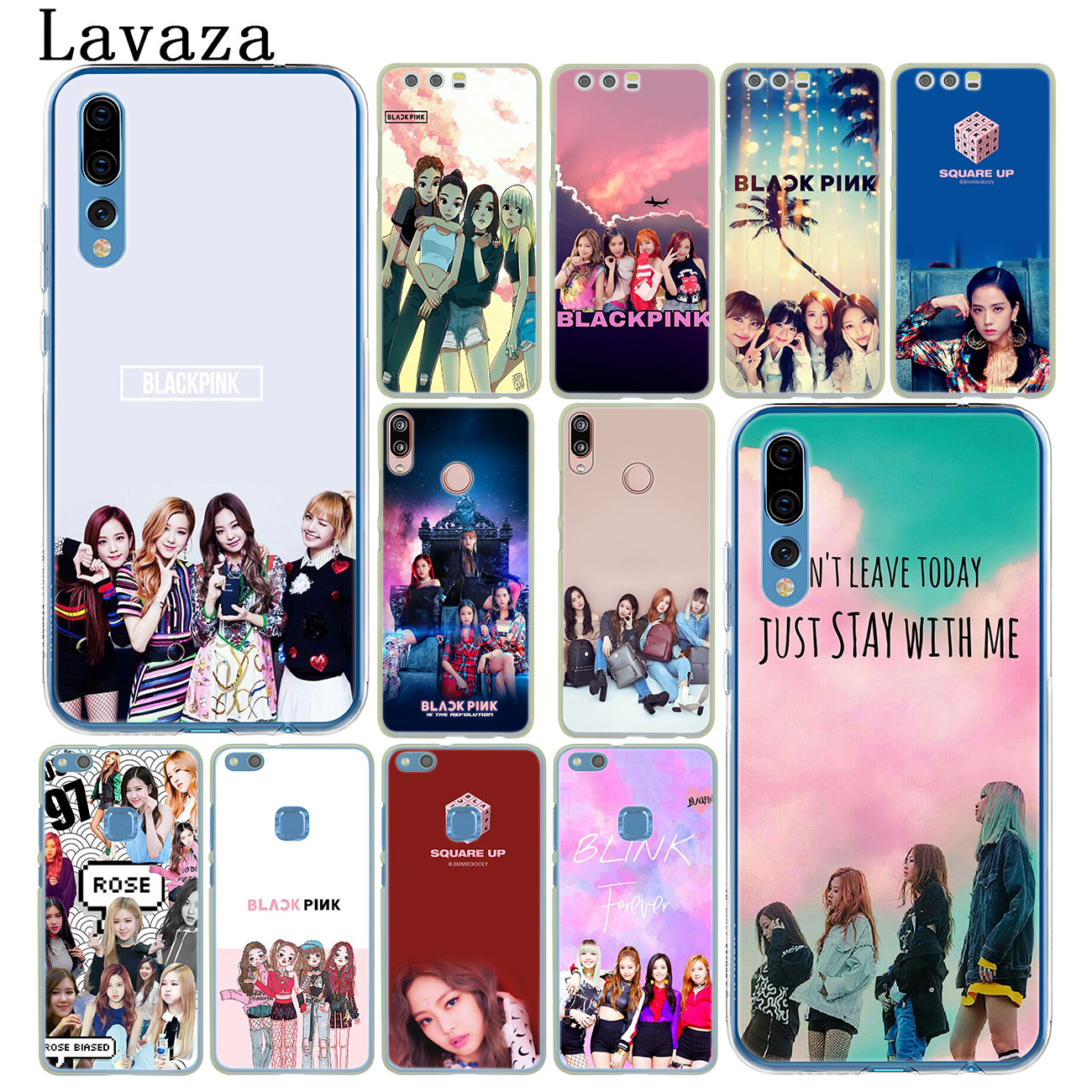 US $1 99 22% OFF|Lavaza Kpop BLACKPINK BLACK PINK Phone Case for Huawei Y7  Y6 Prime Y5 Y9 2018 2017 Honor play 10 8 8C 8X 9 Lite 7C 7X 7A Pro-in