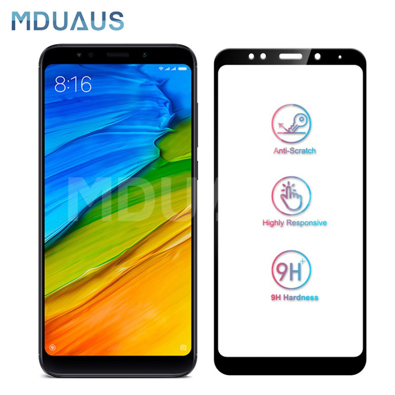 9D Protective Glass On The For Xiaomi Redmi 5 Plus S2 5A Tempered Screen Protector Glass For Redmi 4 Pro 4X 4A Film Case