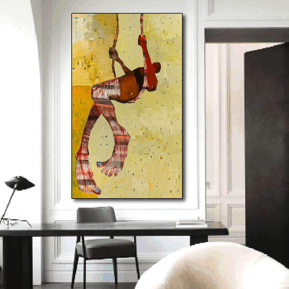 Hot Sale QKART Posters and Prints Wall Art Wall Painting Canvas ...