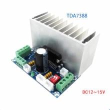 TDA7388 כיתת AB 2/4 ערוץ 4x41W סטריאו סראונד אודיו כוח מגבר לרכב Amp