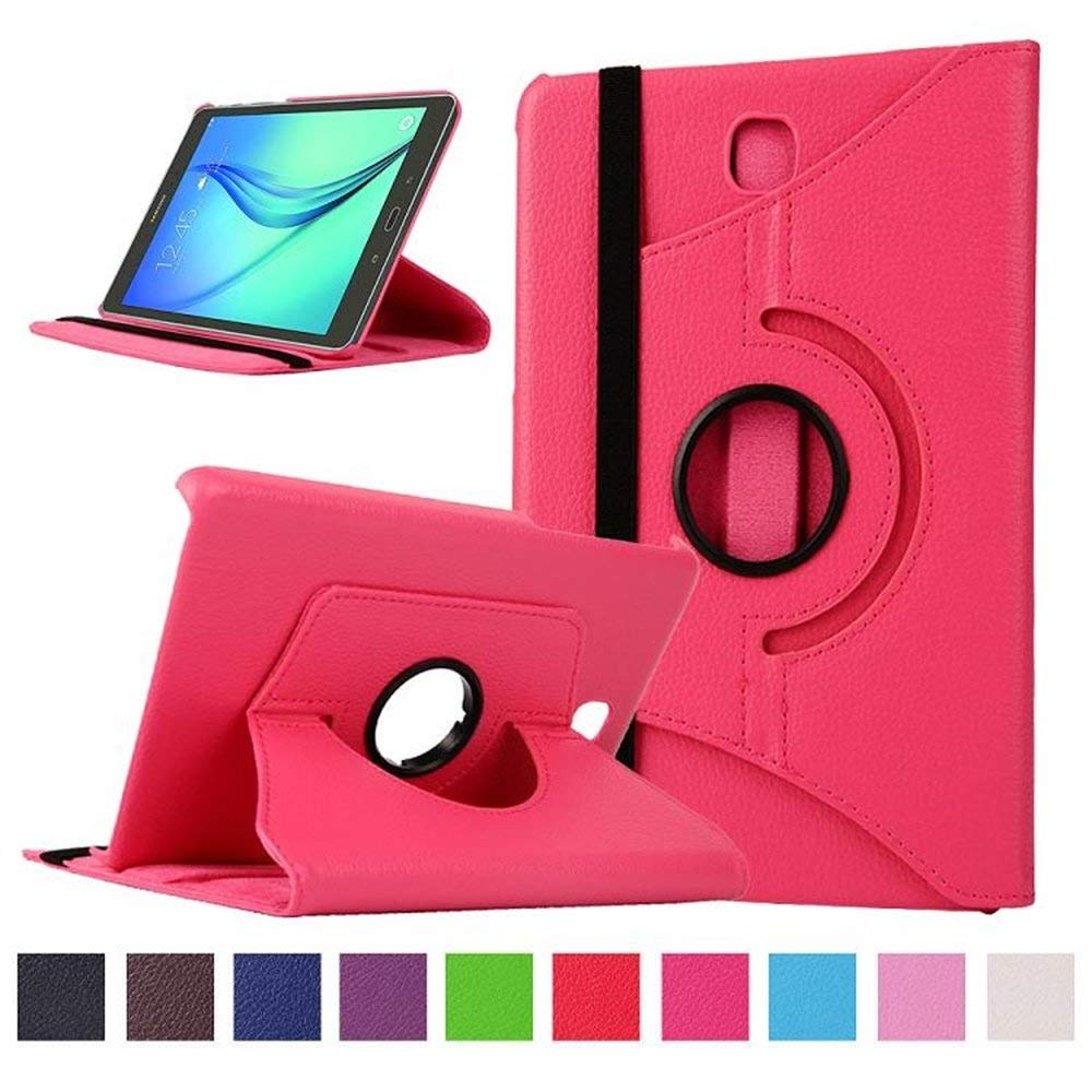 360 Degree Rotating Cover Case For Samsung Galaxy Tab A 8.0inch T350 T355 P350 SM-T350 SM-T355 Tablet PU Leather Flip Stand Case protective 360 degree rotating pu leather case for samsung galaxy note 10 1 n8000 deep pink