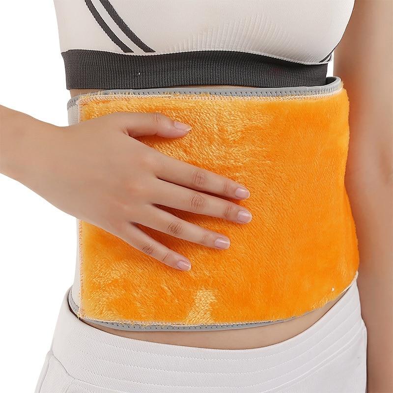Unisex Warm Waist Brace Elastic Breathable Waist Belt Support Abdomen Keep Warm Health Care Warm Belt Women Men Waist Protector