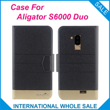 5 Colors! Aligator S6000 Duo Case 2019 High Quality Flip Ultra-thin Luxury Leather Protective Phone For
