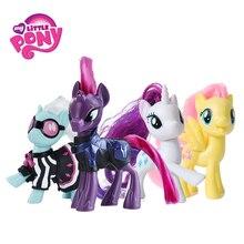 Brinquedo Filme Hasbro My Little Pony Friendship Is Magic Rainbow Pie Raridade Lyra Heartstring PVC Action Figure Collectible Modelo Boneca