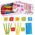 2016 New Kids Educational Math Toys Wooden Sticks Mathematics Material Toy for Children Box Packing