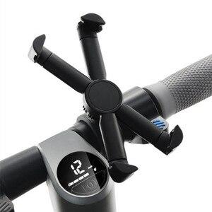 Image 3 - Elektrische Roller Lenker Telefon Halter Cradle für Ninebot es1 es2 es4 Kickscooter für Xiaomi Mijia M365 360 Drehung Wiege