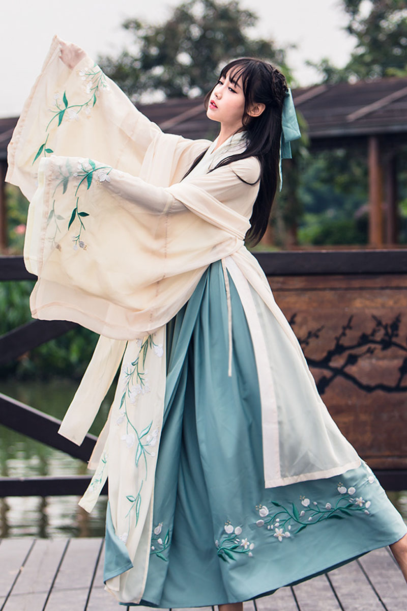 Chinese Traditional Fairy Costume Ancient Han Dynasty Princess Clothing National Hanfu Outfit Stage Dress Folk Dance Costume 90 Chinese Folk Dance Aliexpress
