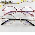 Metal Alloy Oval Full Rim Frame Women Men Italy Design Eyeglasses Prescription Myopia Minus Spectacles Oculos Optical Frame 1087