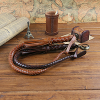 Hand Made Braided Riding Whips For Horse Racing 100 Genuine Bull Leather Equestrian Horse Whip Riding