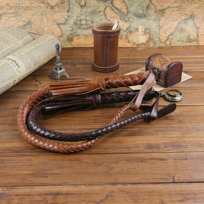 цены 85CM Hand Made Braided Riding Whips for Horse Racing 100% Genuine Bull Leather Equestrian Horse Whip Riding Crop