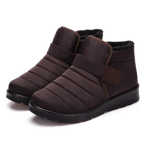 New 2018 women winter shoes unisex snow boots plush inside antiskid waterproof men boots women flat shoes big size 35-46 WSH3140 Lahore