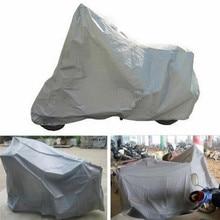 JINHF полный защитный мотоциклетный чехол анти-УФ водонепроницаемый пылезащитный дышащий капюшон Серебряный Мотор скутеры Чехлы дышащий