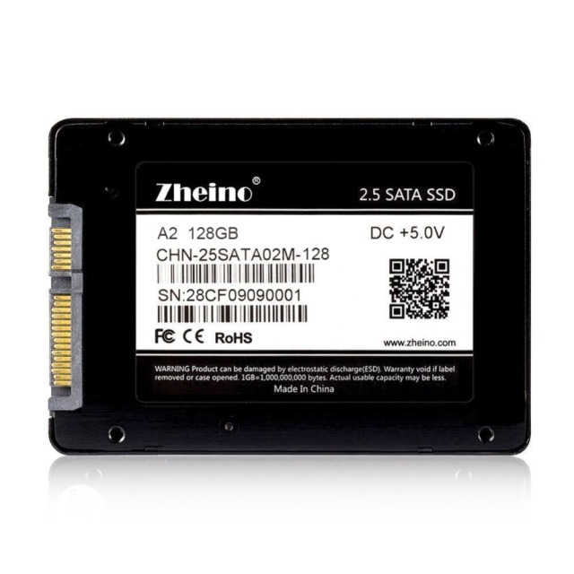 Zheino A2 128GB SATA SSD 7mm Solid State Drive 2.5 SATA3 MLC(Not TLC Not 3D NAND ) With 256M Cache For Laptop Desktop Hard Drive