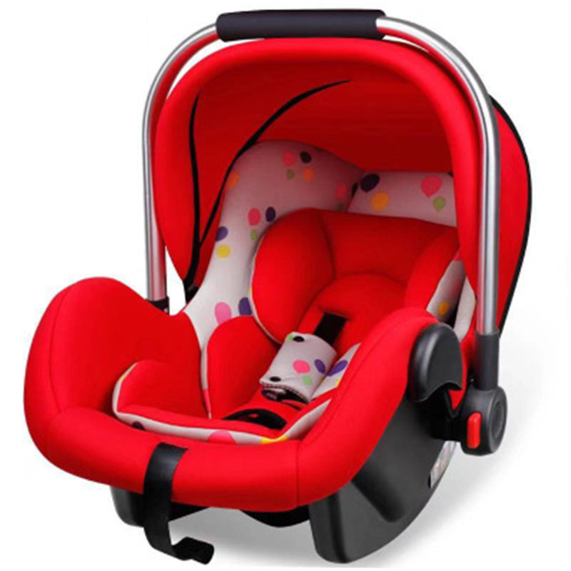 0-12 Month Baby Car Basket Portable Safety Baby Car Seat Hand Basket Auto Chair Seat Infant Baby Protect Seat Chair Basket