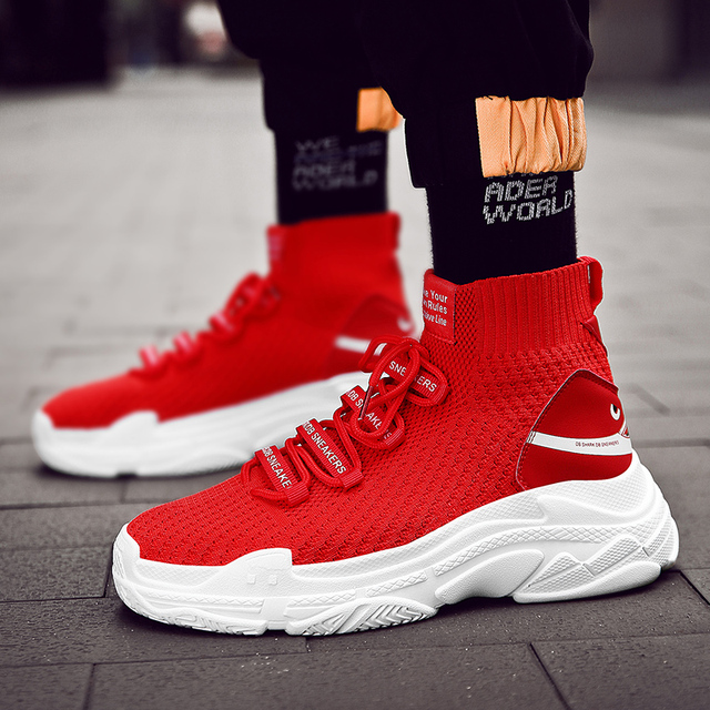 Women Running Shoes Men Shark Sneakers Breathable Sock Outdoor Sports Basket Homme Unisex Athletic Jogging shoe Zapatillas Mujer 1