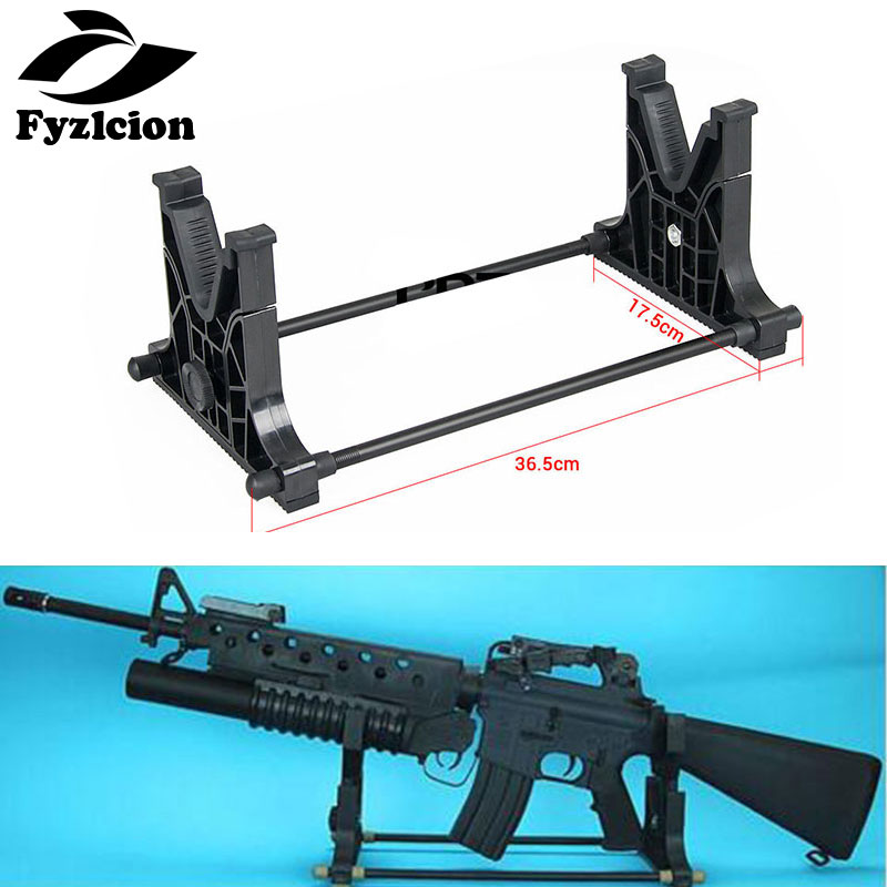 Tactical  Rifle Gun Rack Cradle Holder Stand Bench Rest Wall Stand For Hunting Rifle  Cleaning & Maintenance&Display