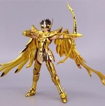 ST S Temple (Club de Metal MC) Saint Seiya, tela Myth EX Gold, modelo de aioros de Sagitario, tela de metal