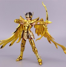 ST S Temple (MC Metal Club) Saint Seiya Cloth Myth EX Gold Sagittarius Aiolos model metal cloth