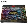 Top Sale League of Legends Game Mousepad PC Computer Laptop Mouse Pad Lock Edge Durable Rubber Speed Mats