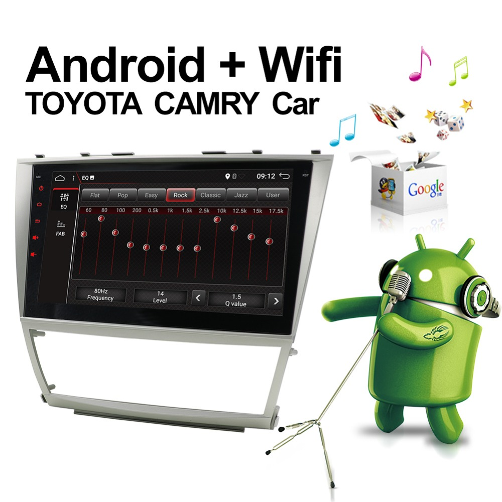 Bosion 10.1inch 2 din Android 7.1 for Toyota Camry 2007-2011 car dvd player with GPS 3G 4G WIFI Bluetooth Radio Stereo Navi Map