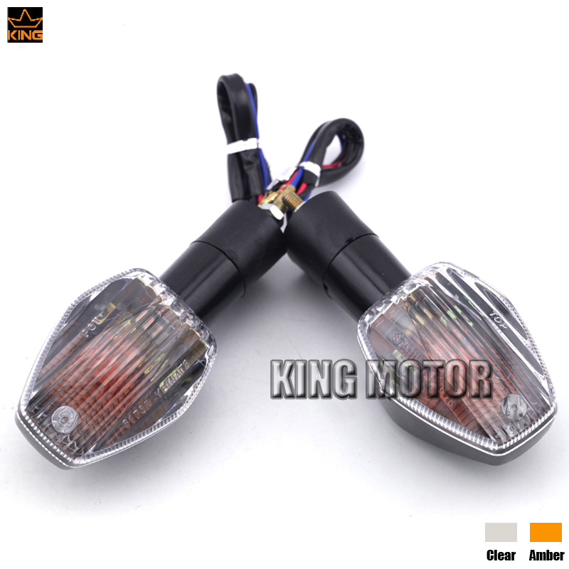 For HONDA CB1000R 08-15 CB1300 05-14 CB1300S 04-16 Motorcycle Front/Rear Turn Signal Indicator Light Blinker Lamp Bulb Clear 12v 3 pins adjustable frequency led flasher relay motorcycle turn signal indicator motorbike fix blinker indicator p34