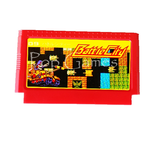Battle City 60 Pins Game Cartridge for 8 Bit Game Console Drop Shipping