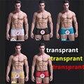 Transparent Panties Man Sexy Panties Meng string culotte sexy plus size XL tangas crotchless Panties Sexy men Trunks for Men