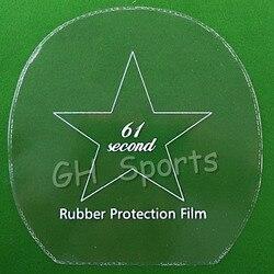 4x 61 zweite Tischtennis Gummi Schutz Film für Ping Pong Schläger