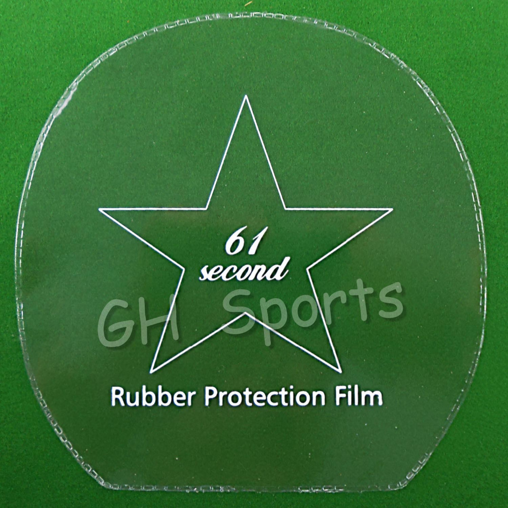 4x 61second Table Tennis Rubber Protection Film For Ping Pong Racket