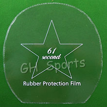4x 61second Table Tennis Rubber Protection Film for Ping Pong Racket(China)