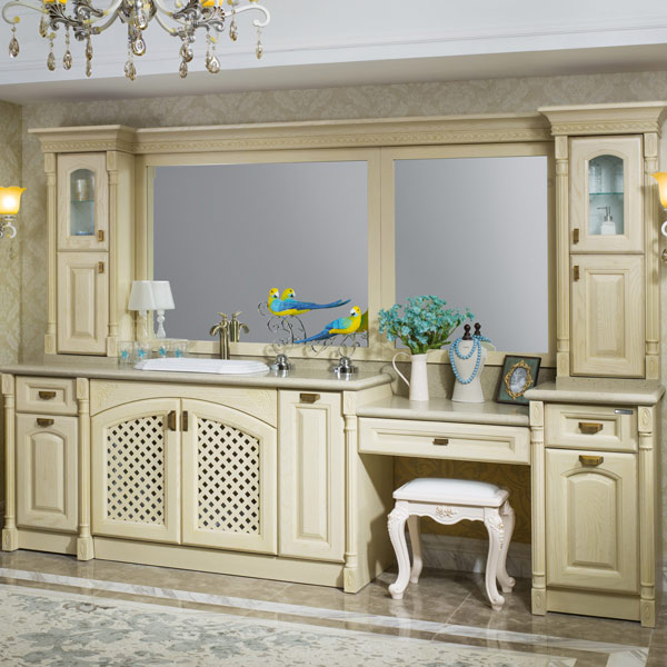 New Design Luxury Bathroom Vanity Stainless Steel Bathroom