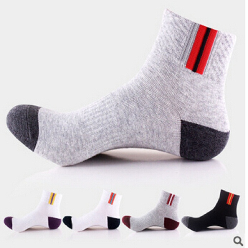 2018 Sale Real Standard Casual Mens Socks Calcetines Hombre The Latest Fashion Popular Professional Mens Soft Cotton Socks