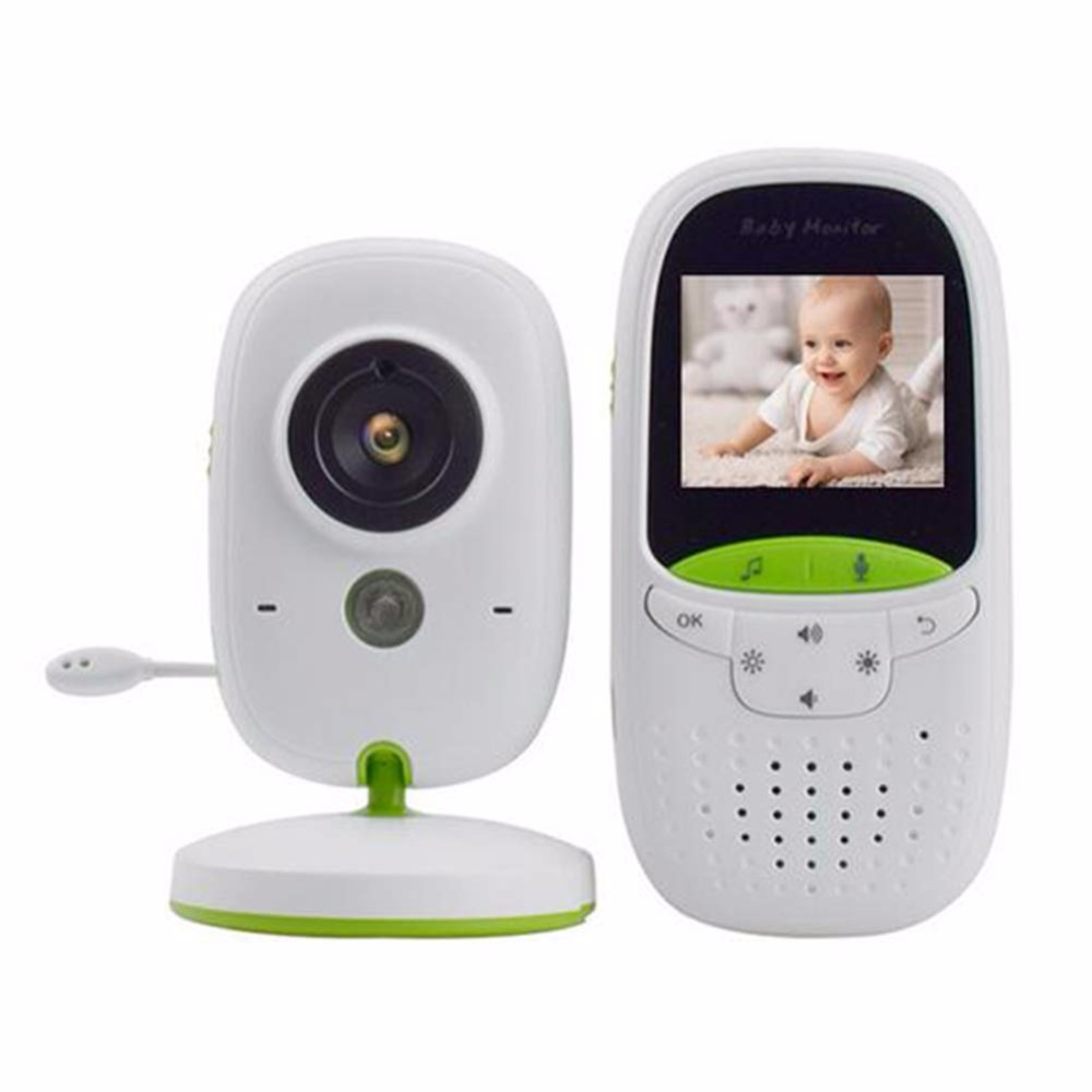 babykam baby monitor with camera video nanny wireless 2.0 inch LCD IR Night Vision Temperature Monitor 8 Lullabies Baby Intercom wireless nanny video baby monitor camera lcd electronica night vision ir temperature smart audio monitor bebe