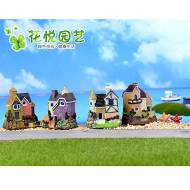 Fairy Tale Russian Style Villa Micro World Accessories Bonsai Miniature  Craft Garden Home Decoration, Childrenu0027s