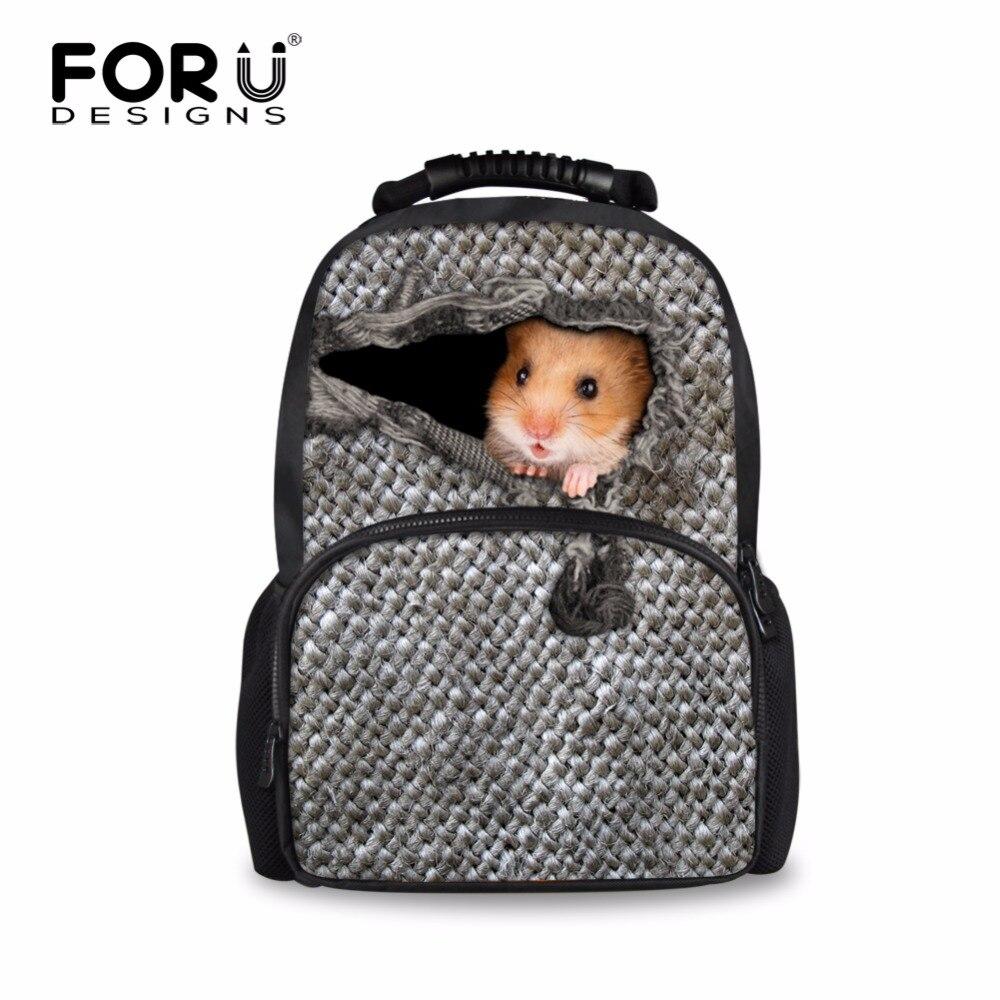 FORUDESIGNS Large Animal Women Backpack,Cool 3D Print Backpacks for Ladies,Female Travel Backpack Teenage Girls School Back Pack
