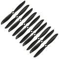 5pairs Black 6045 Propellers CW/CCW for Quadcopter Q330 QAV250 FPV Multirotor