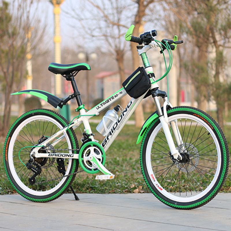 20/22/24/26inch bike 21/24/27speed variable speed mountain bicycle multicolor wheel mountain bike Double disc brake bicycle