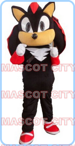 mascot black shadow hedgehog mascot costume adult size hot sale anime cosplay costumes carnival fancy dress 2655