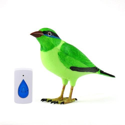 Draadloos Deurbel Vogel.Us 16 19 10 Off Digitale Draadloze Bird Deurbel Afstandsbediening Klokkenspel Deurbellen Home Vogel Muziek Deur Alarm Met Led Indicator Jingle Bell