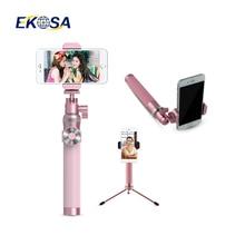 Selfie придерживаться мобильный штатив монопод bluetooth selfie для 5S iphone 7 xiaomi смартфонов алюминиевый пау пало де самоуправления selfipalka