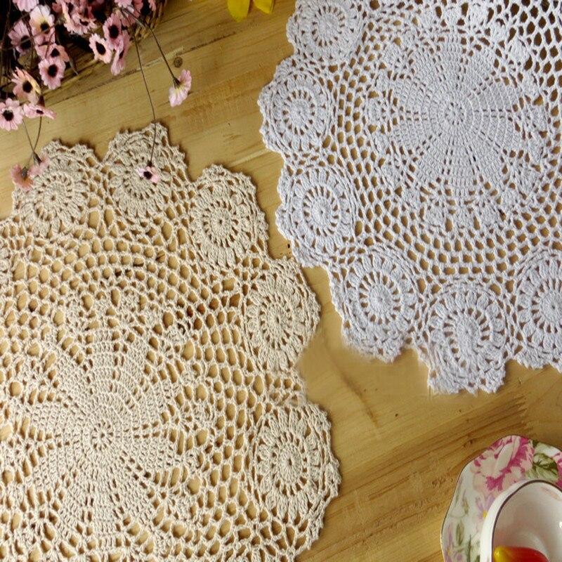 100% handarbeit Baumwolle Häkelnadel Blume Setzer Geschirr Matte 1 ...