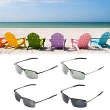 2018 nuevos Hombres Calientes gafas de sol de medio marco polarizado Sun Metal  marco moda marca diseñador UV400 alta calidad fca42e6e6b23
