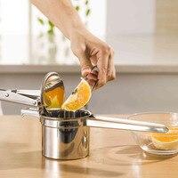 Practical Manual Press Mashed Potato Maker Fruit Juicer Kitchen Tool