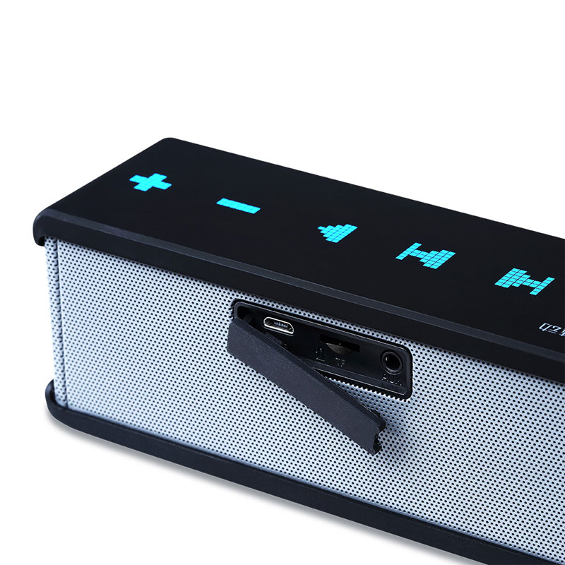 Meidong QQ2 Mini kaasaskantavad Bluetooth-kõlarite stereo traadita - Kaasaskantav audio ja video - Foto 3