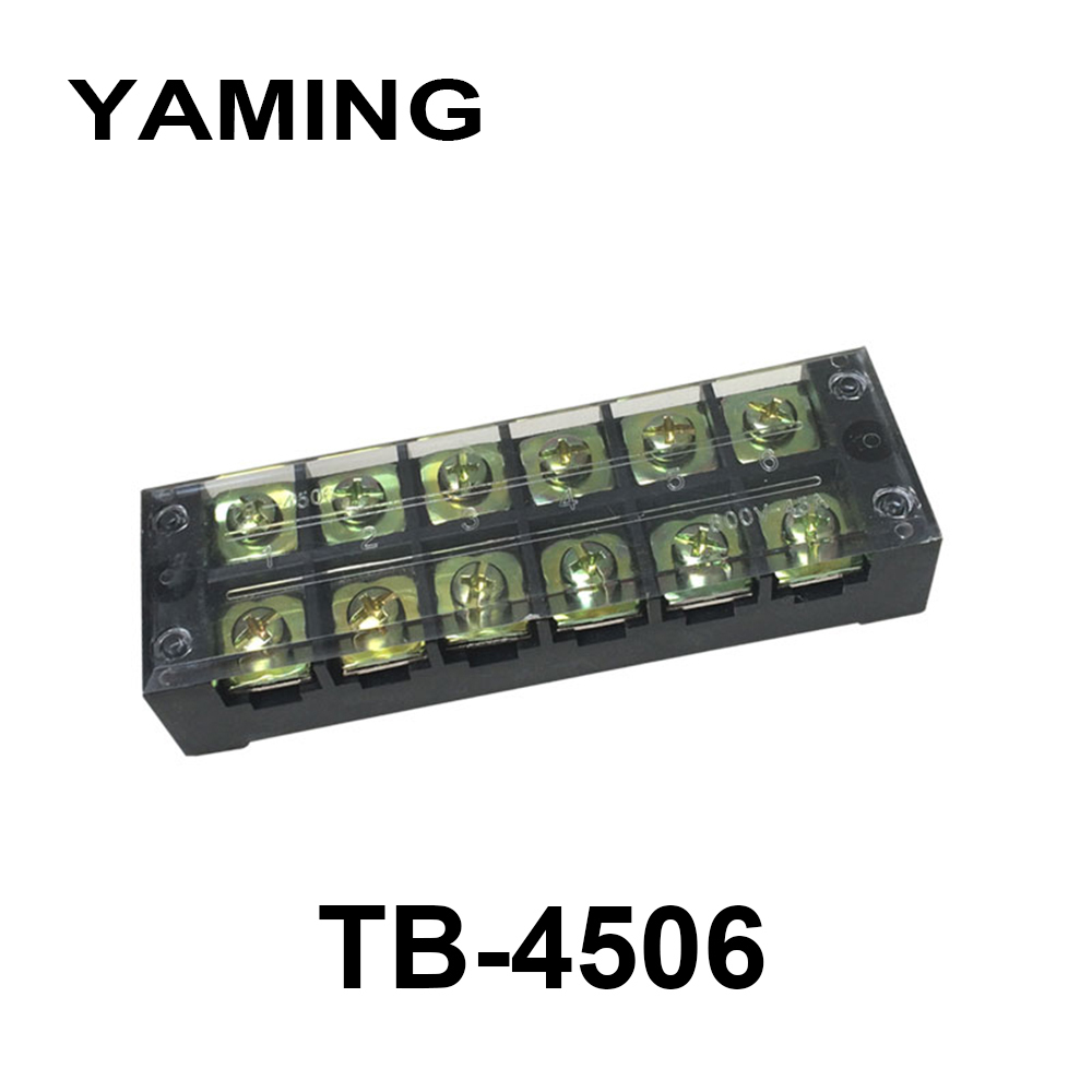 sourcing map Terminal Strip Screw Terminal Barrier Block 10A 12 Position Dual Row Type H Wire Connector 7pcs