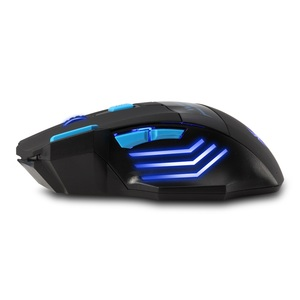 Image 3 - ZELOTES F14 LED Optical Computer Mouse Wireless 2.4G 2400 DPI 7 Buttons Wireless Gaming Mouse Colorful Breathing Lights