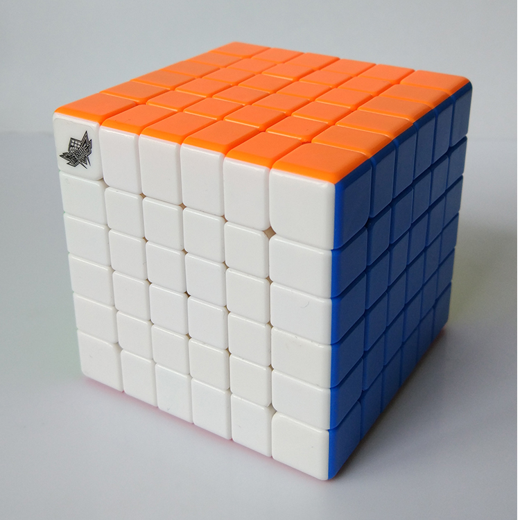 New Vesion Cyclone Boys 6x6x6 G6 high speed Magic Cube Puzzle 6 Layers Professional Learning Educational