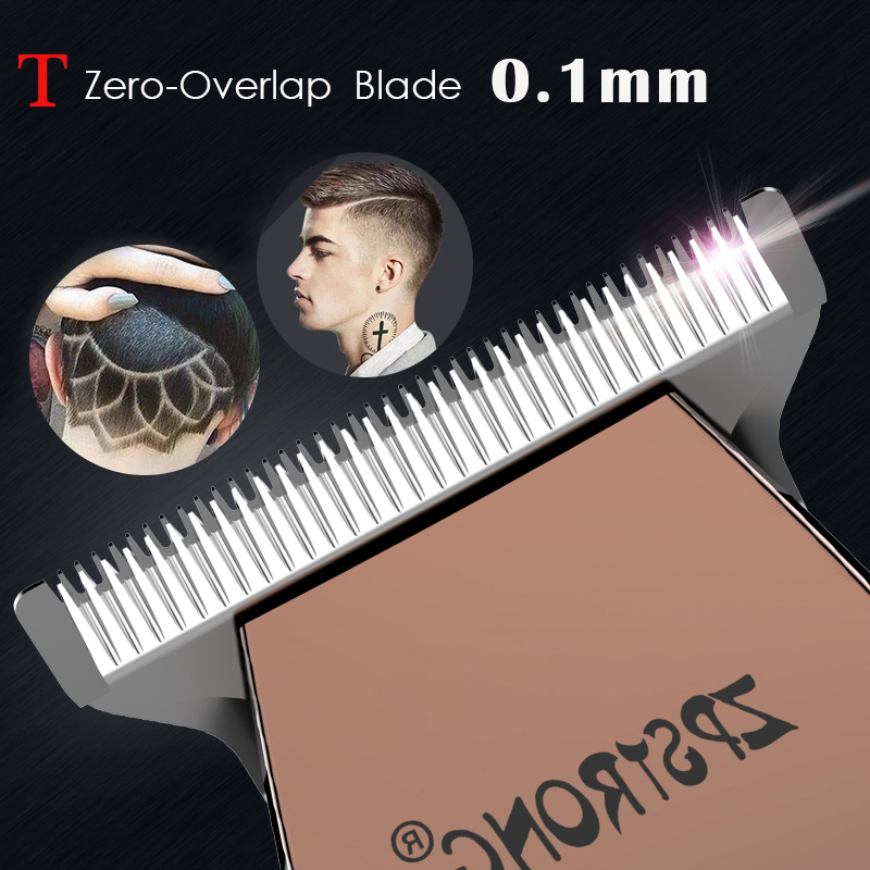 Image 2 - 100 240V professional Hair Trimmer Electric Hair Clipper For Men Beard Trimmer hair cutter Barber Cordless haircut machine 0 mm-in Hair Trimmers from Home Appliances