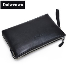 M39 Men's Wallets Brand Fashion Long Wallet Business Affairs Men's Clutch Bags Wallet Genuine Leather Handbag Gift for Men
