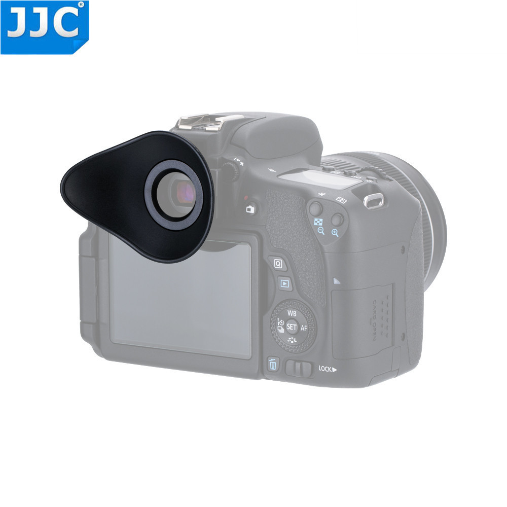 JJC Camera Viewfinder EyeCup for Canon 6D/70D/80D/550D/600D/650D/700D/750D/760D/8000D/1200D/300D Replaces EF/EB Eyepiece ботинки лыжные nnn spine smart размер 45